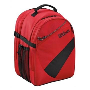Backpack Red Black