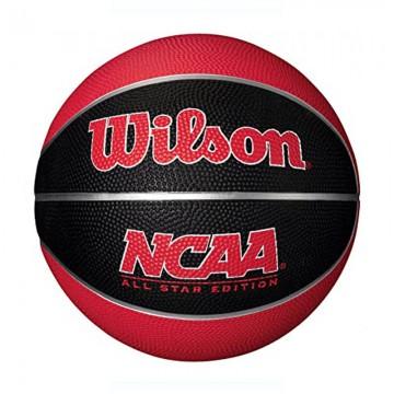 BSKT NCAA MINI BALL BL/RD SZ3