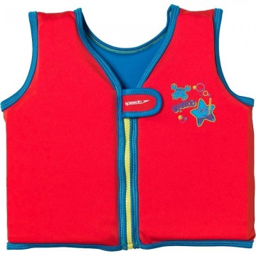 Sea Squad Swim Vest Jr. Red/Blue